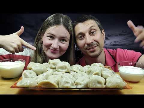 МУКБАНГ 2 КГ БУРЯТСКИЕ ПОЗЫ ИЛИ БУУЗЫ | MUKBANG 2 KG BURYAT HUGE DUMPLINGS #dumplings #mukbang