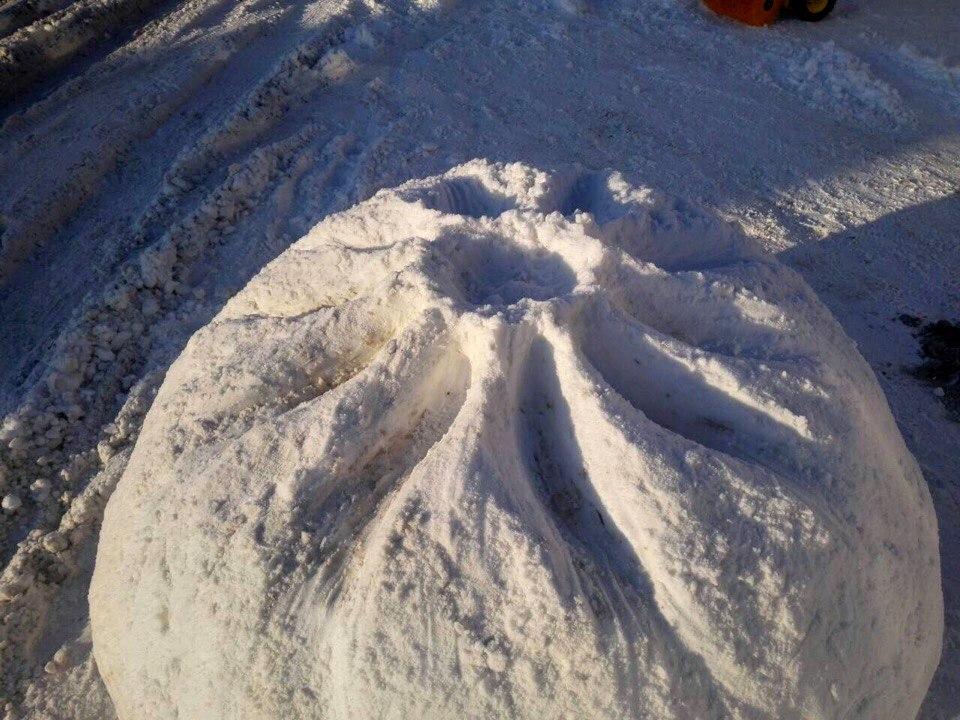Снежная бууза