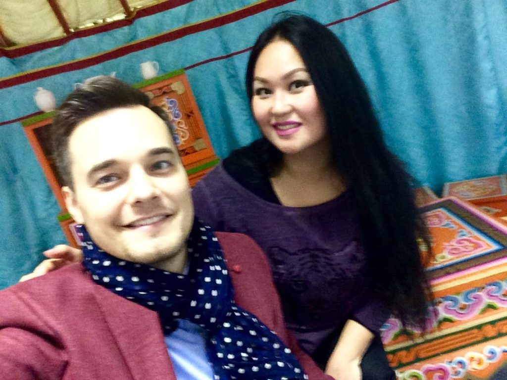 Альберт Жалилов и Ольга Жигмитова