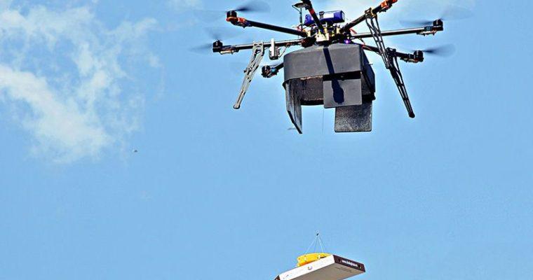 Доставка еды дронами