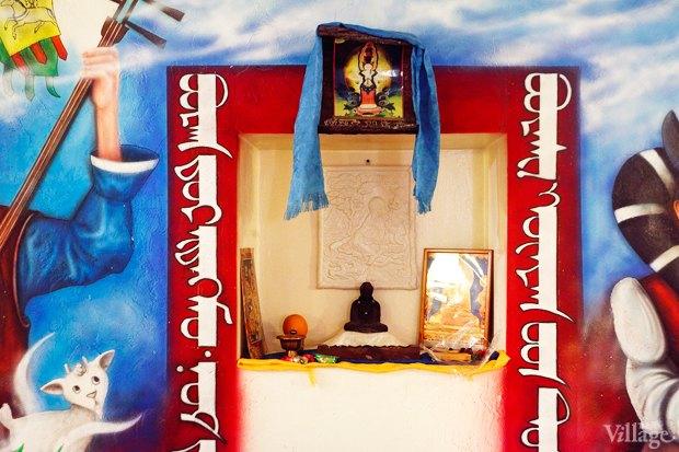 Буузная в дацане святое место