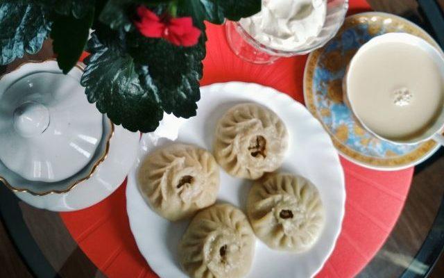 Буузы и монгольский чай
