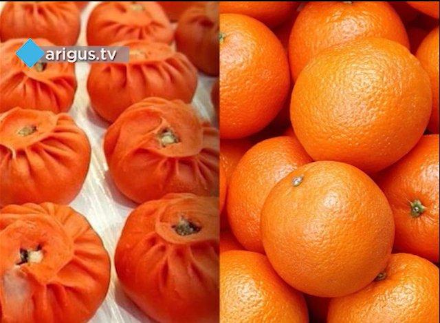 Новогодние мандарины - буузы