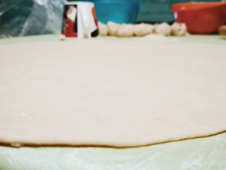Тесто на буузы