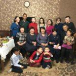 Бурятская семья снялась для первого канала