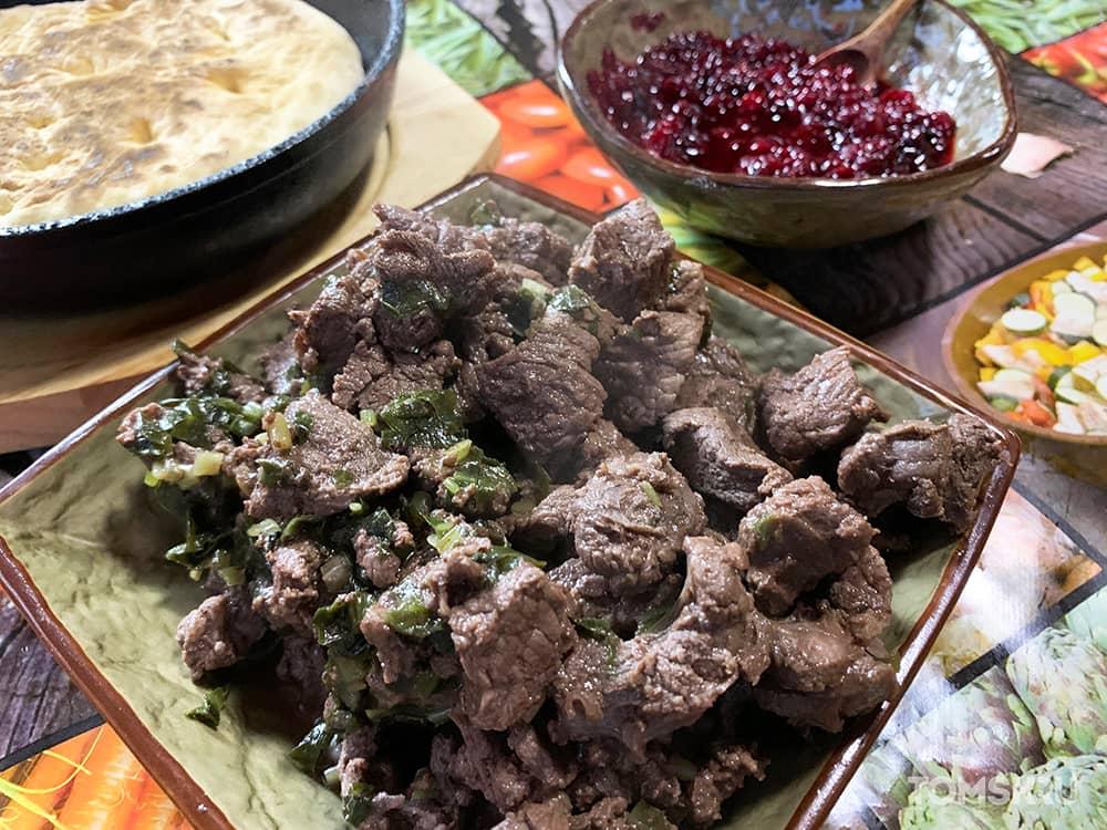 Чукин из мяса изюбра
