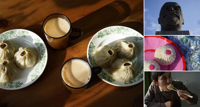 Буузы и как их едят в Улан-Удэ