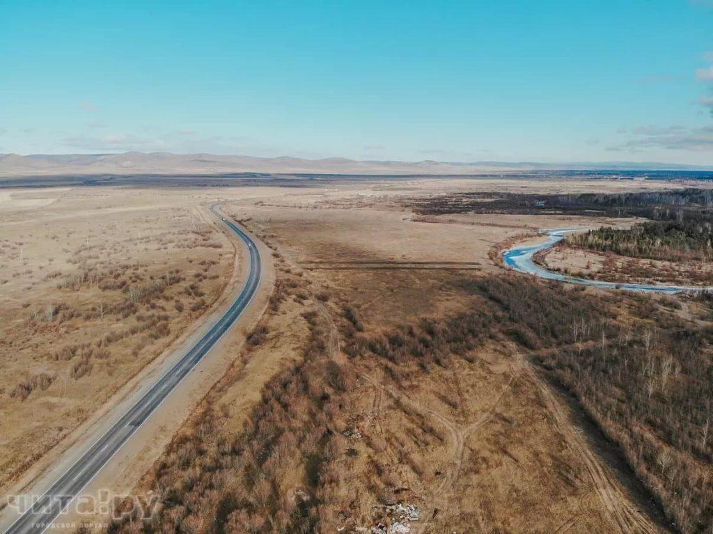 Романовский тракт и река Читинка