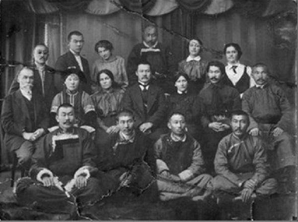 г. Чита. 5.05.1917 г. Бурят-монгольская делегация общественных деятелей