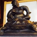 Бурятский скульптор представил скульптуру «Хан-Бууза»